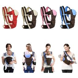 4-in-1 Newborn Infant Baby Carrier Breathable Ergonomic Adju