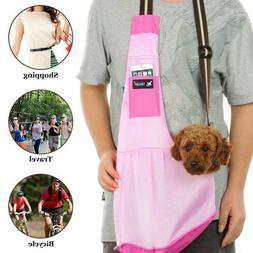 Nylon Mesh Puppy Pet Dog Cat Carrier Bag Sling Single Should