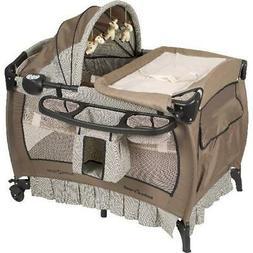 Pack N Play Deluxe Nursery Center Playard Baby Trend Genuine