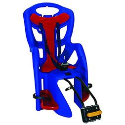 Bellelli Pepe Seatpost Mounted Baby Carrier, Blue/Red