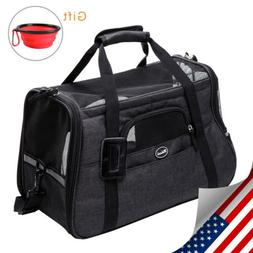 Pet Carrier  Air Mesh Soft Sided Cat/Dog Travel Tote Shoulde