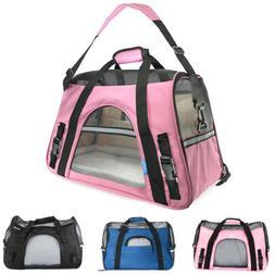 Pet Carrier Dog Cat Puppy Comfort Travel Bag Mesh Backpack H