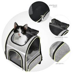 Pet Dog Cat Carrier Backpack Adjustable Shoulder Bag Breatha