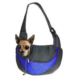 Pet Sling Bag Shoulder Carrier Pouch Mesh Travel Tote Handba