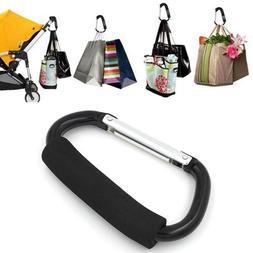 Pram Pushchair Buggy Stroller Hook Clip Carrier Shopping Bag