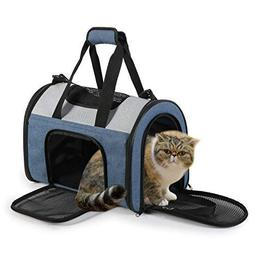 JESPET Soft Pet Carrier for Travel, Portable & Lightweight C
