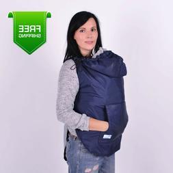 Spring/Autumn Navy Babywearing Coat Extender, Baby Carrier C