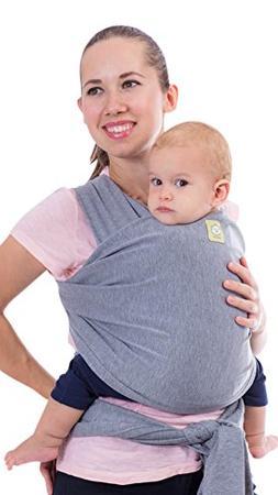 Baby Wrap Carrier All-in-1 Stretchy Ergo Baby Wraps - Ergono